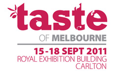 Taste of Melbourne 2011 Giveaway
