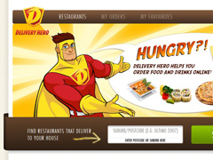 Delivery Hero Online food ordering